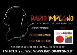 ParteCivile a Radio Impegno @ RadioImpegno
